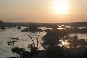 Solnedgang over Nilen